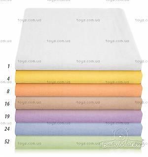 Фланелевая пеленка 70х80 см, синяя, 0163-24