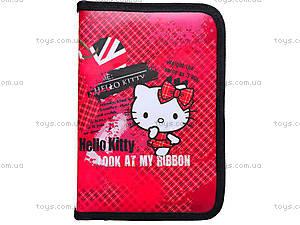 Школьный пенал на молнии Hello Kitty, HK15-621-1K, цена