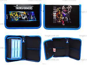 Пенал школьный Transformers, без наполнения, TF15-621-1K