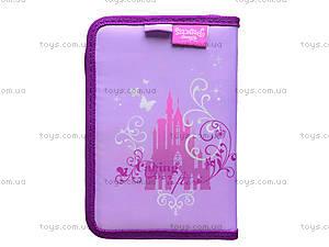 Пенал для девочек Princess, P15-622-2K, фото