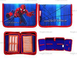 Пенал на молнии Spider-Man, SM15-622-1K