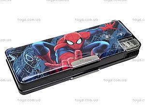 Пенал жесткий с точилками Spiderman, SMBB-US2-119281, фото