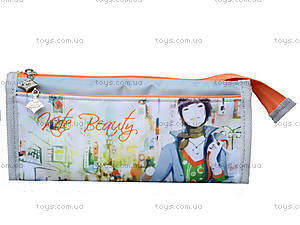 Пенал для канцтоваров Kite Beauty, K14-652-1