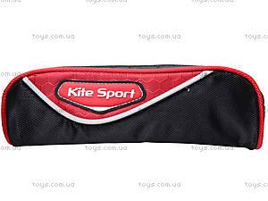 Пенал Kite Sport, черно-красный, K14-645-2