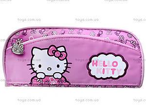 Пенал мягкий Hello Kitty, 3 отдела, HK14-649-1K, фото