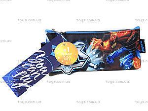 Пенал мягкий Max Steel, MX14-641K