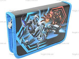Пенал на молнии Max Steel, MX14-622-2K