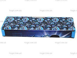 Пенал пластиковый Max Steel, MX14-630K, купить