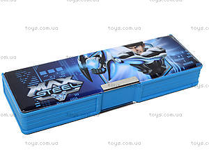 Пенал пластиковый Max Steel, MX14-630K