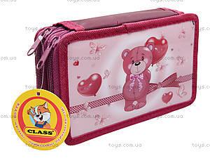 Школьный пенал-книжка Lovely Bear, 94051