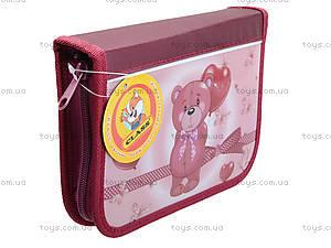 Пенал школьный Class Lovely Bear, без наполнения, 94036, цена