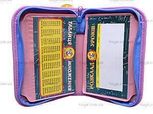 Школьный пенал-книжка Princess, 94034, фото