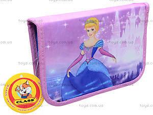 Школьный пенал-книжка Princess, 94034