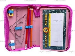 Школьный пенал-книга для детей Fairy Club, 94058, фото