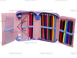 Школьный пенал-книга Princess с наполнением, 94069, купить