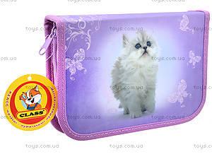 Пенал школьный для детей Lovely Kitty, 94071, отзывы