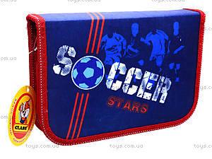 Пенал школьный для мальчиков Class Soccer, 94075, фото