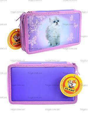 Пенал школьный Lovely Kitty, 94049