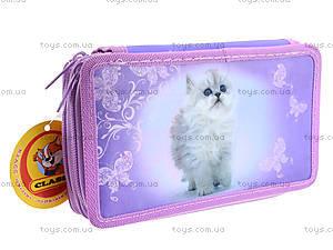 Пенал школьный Lovely Kitty, 94049, отзывы