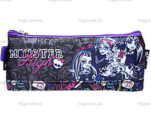 Пенал школьный мягкий Monster High, MH14-641K, фото