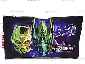 Пенал текстильный «Transformers»,