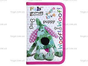 Школьный пенал Fabric Animals, 531068, отзывы