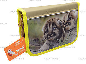 Детский пенал-книжка «Тигрята» с наполнением , У4021