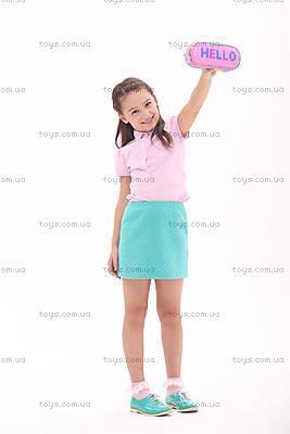 Пенал Upixel Super class, розовый, WY-B012B, игрушки