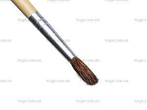 Кисточки для рисования белка №4, 25 штук, 51912-TK, купить