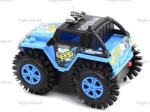 Машина перевертыш на батарейках, M11-D, детские игрушки