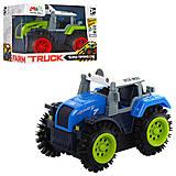 Игрушечный трактор перевертыш, 2 цвета, M31-1, фото