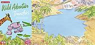Переводные наклейки Scribble Down «Дикие приключения», SD/03, купить