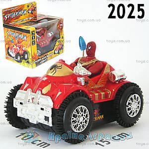Перевёртыш-машина «Спайдермен», 2025