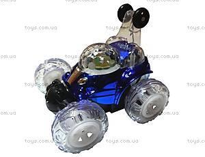 Машинка-перевертыш на радиоуправлении Cool Lamp, синяя, LX-9082b
