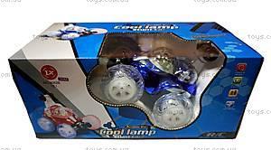 Машинка-перевертыш на радиоуправлении Cool Lamp, синяя, LX-9082b, купить