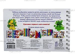 Книжка «Первые шаги: Цвета», К410009Р, купить