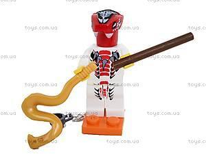 Конструктор-персонаж «Ниндзя», 9763-9764, магазин игрушек