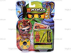 Конструктор-персонаж «Ниндзя», 9763-9764, фото