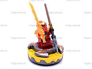 Конструктор-персонаж «Ниндзя», 9763-9764, игрушки
