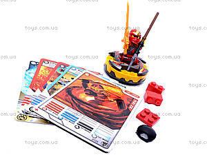 Конструктор-персонаж «Ниндзя», 9763-9764, детские игрушки