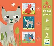 Первые пазлы Djeco 9х12х16 «Кошки», DJ07136, фото