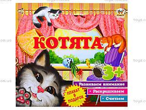 Детская книга «Первые шаги: Котята», Талант, цена