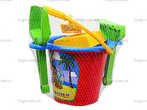 Детский песочный набор 5 предметов, 71530, фото