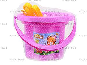 Песочный набор для малышей «Цветочек», 39040, фото