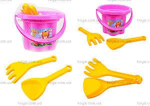 Песочный набор для малышей «Цветочек», 39040