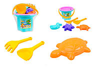Игровой песочный набор «Цветочек», 39043, фото