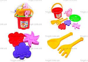 Детский песочный набор «Цветочек», 39046