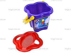 Песочный набор для детей с ведерком, 01-104, фото