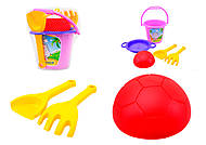 Игровой песочный набор для малышей, 39063, купить