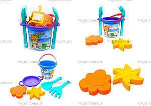 Детский песочный набор «Тигрёнок», 39033